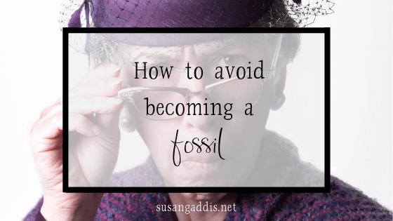 How to avoid becoming a fossil