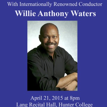 Willie Anthony Waters Masterclass