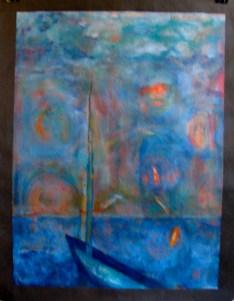 1.Barbara Schatan painting