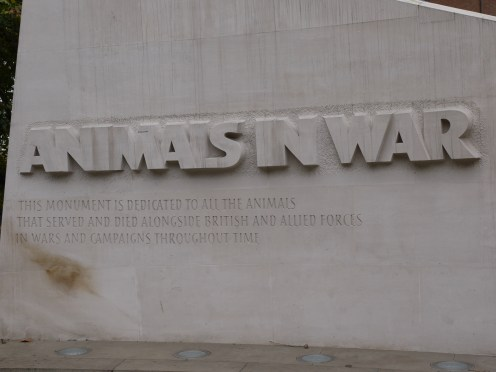 Picture of Animals in War Memorial, London