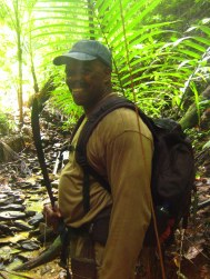 Junglegids en z'n machete