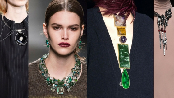 jewelry trends fall 2016 earthy-stones raw