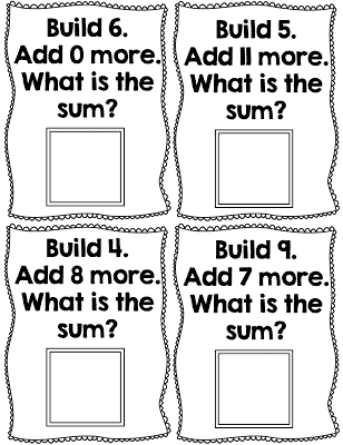 Math Centers and an Addition Freebie for First Grade