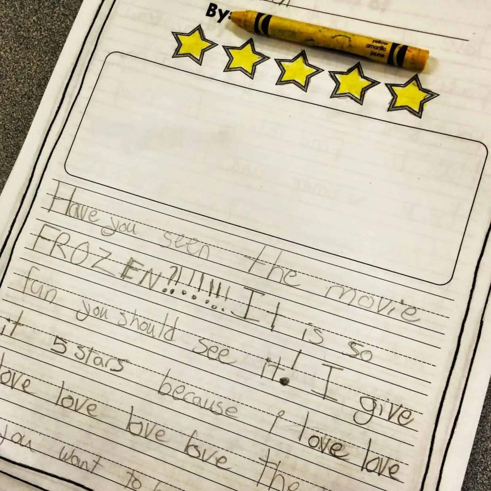 medium resolution of Writing Reviews in 1st or 2nd Grade: Opinion Writing Fun! - Susan Jones