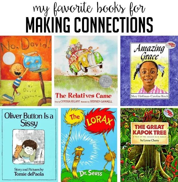 Read Aloud Books For Making Connections  Susan Jones