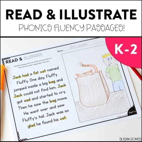 small resolution of Silent E Fluency Passages - Susan Jones
