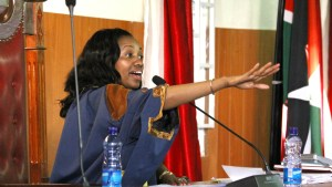 First Speaker of Nakuru County Assembly Susan Kihika