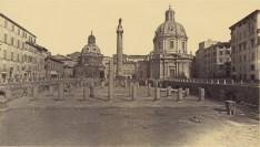 Robert Macpherson, Forum of Trajan, Rome, 1860s | Digital image courtesy of the Getty's Open Content Program