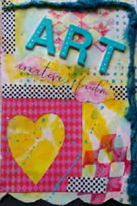 Art is one of Susan Korsnick's greatest Little Joys.