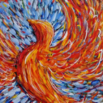 Phoenix Rising, inspires us to rise from our own ashes