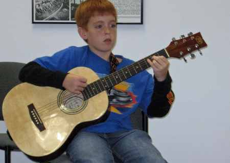 JAM student Jesse Allen from Laurel Fork, Virginia