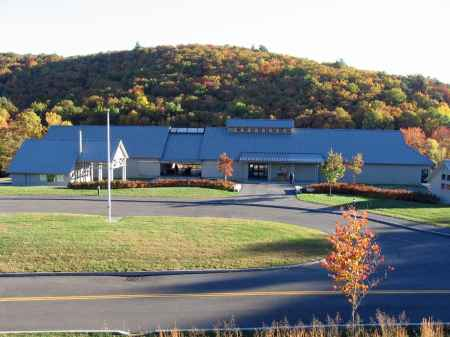 The Blue Ridge Music Center near Galax, Virginia