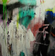 Abstract painting Accidental F