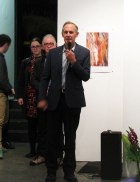 Bob Brown opening the show