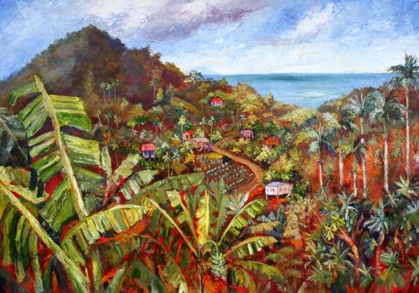 Paintings Of Caribbean Art In Barbados - Journal Susan Mains And Soul