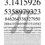 Free Downloadable Pi Poster