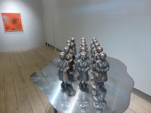 """Svenska Tantens lilla armé"" brons 2013"