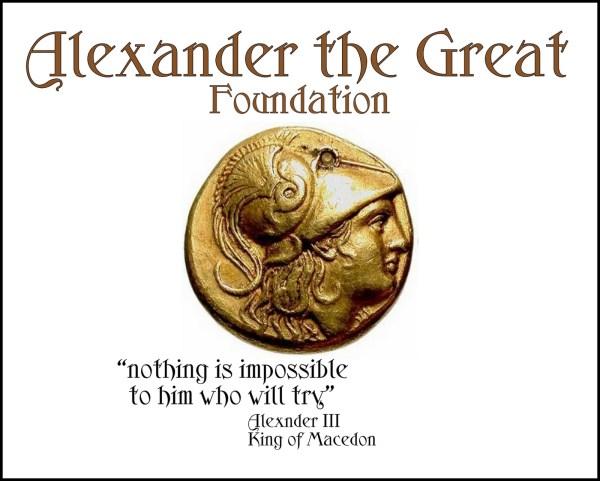 Alexander Great Charity Susanna Galanis