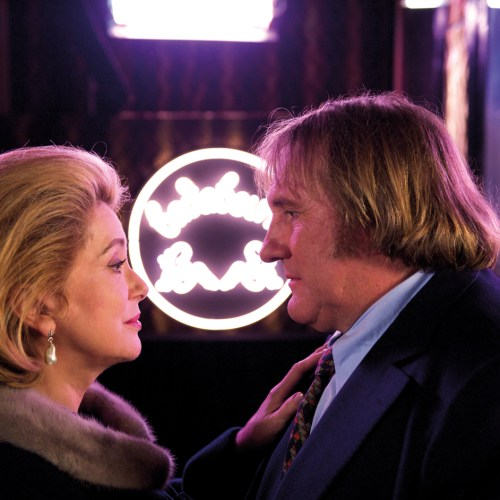 Catherine Deneuve and Gerard Depardieu in Potiche