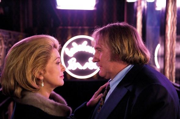 Catherine Deneuve and Gerard Depardieu in Potiche