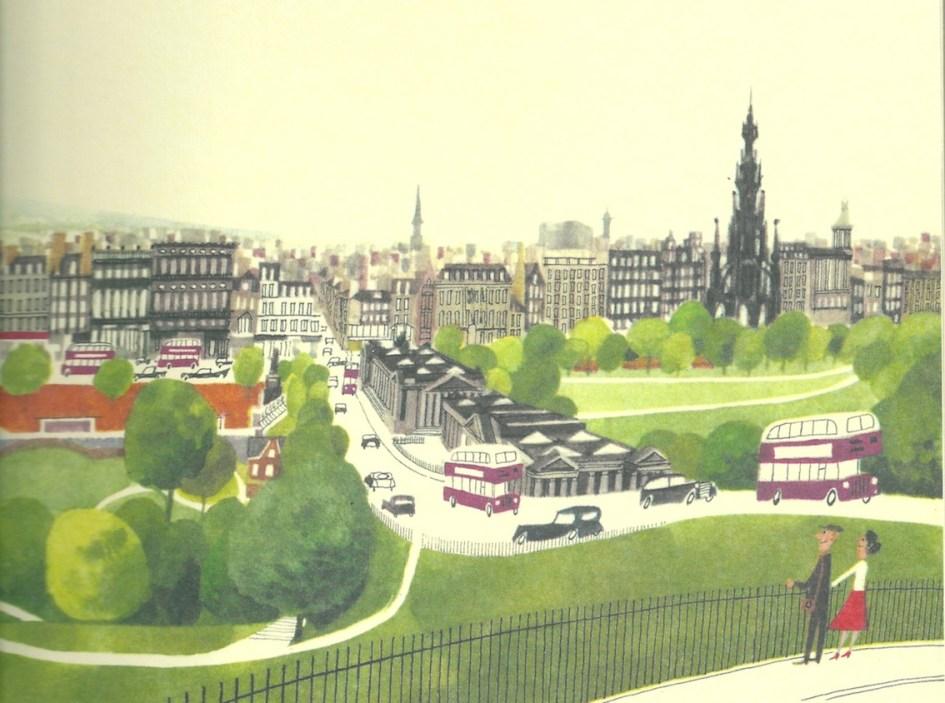 This is Edinburgh, M Sasek, Princes Street Gardens