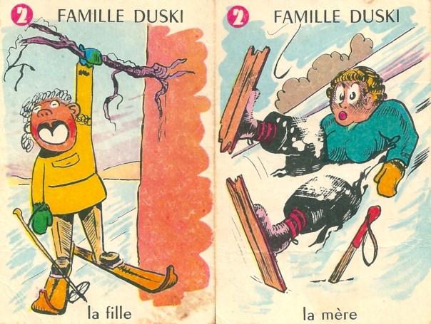 Familles Champions, Famille Duski