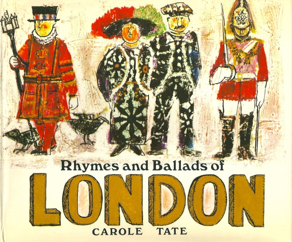 Rhymes and Ballads of London front cover