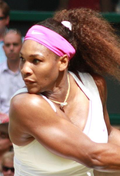 Serena Williams, Wimbledon 2012 (pic Katherine Shann)