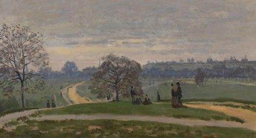 Hyde Park - Claude Monet