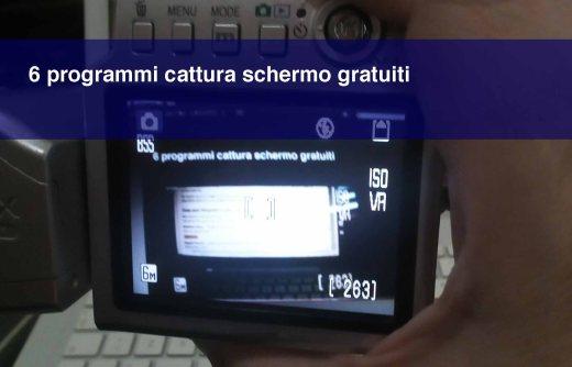 6 programmi cattura schermo gratuiti per Windows e Mac