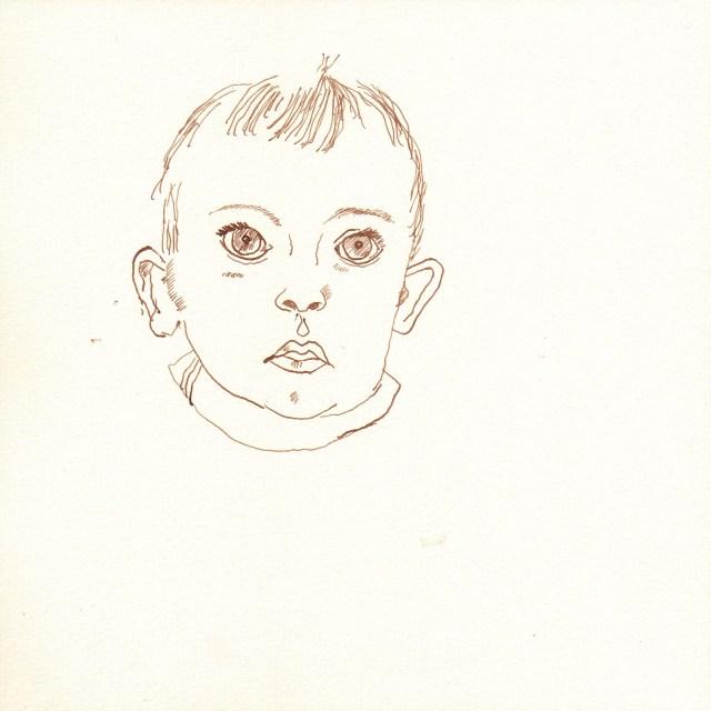 Melvin - Entstehung Zeichnung von Susanne Haun