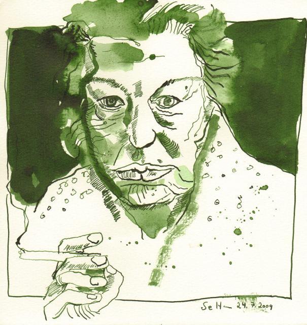 Das Alter - Zeichnung von Susann Haun