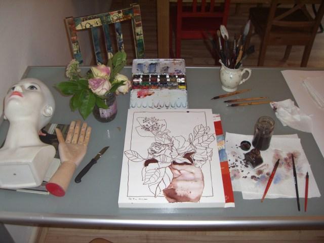 Schreibtisch von Susanne Haun