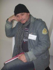 Andreas Mattern, mein fleißiger Helfer bei der Kunstmesse