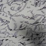 Ausschnitt 1 Zeichnung Wolken von Susanne Haun