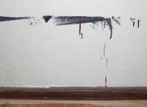 Wandzeichnung von Susanne Haun