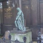 Engel auf dem Friedhof Liesenstraße Berlin - Foto von Susanne Haun
