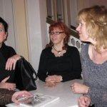 Frau Dr. Lange, ich und Frau Urban, die Organisatorin der Ausstellung