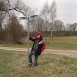 Ich während meines Aufenthaltes bei meiner Tante Rosi im Spreewald