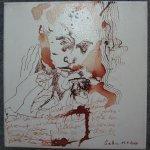 Abholung - Zeichnung von Susanne Haun - 20 x 20 cm - Tusche auf Leinwand - gefirnist