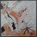 Fast diabolisch - Zeichnung von Susanne Haun - 20 x 20 cm - Tusche auf Leinwand - gefirnist