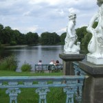Teich im Schlossgarten Charlottenburg - Foto von Susanne Haun