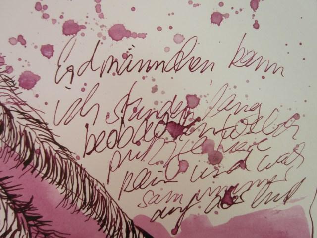 Ausschnitt Erdmännchen Zeichnung von Susanne Haun