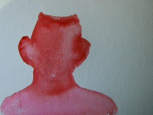 Kopf als Fläche dargestellt von Susanne Haun