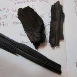 Echte gesammelte Kohle zur Inspritation beim Zeichnen - Foto von Susanne Haun