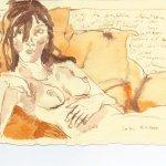 Liegender Akt - Sammlung Anja und Frank Westphal