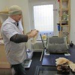 Ein Glück hilft mir Andreas beim Drucken - Foto von Susanne Haun