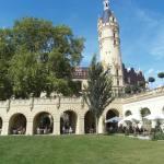 Das Schweriner Schloss ist wunderschön angelegt - Foto von Susanne Haun