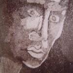 Im Dunkeln 2003 - Radierung von Susanne Haun - 15 x 10 cm - Aquatinta, 1 Platte