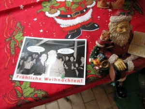 Eine ganz andere Weihnachtskarte von Helen - amüsant, oder? - Foto von Susanne Haun